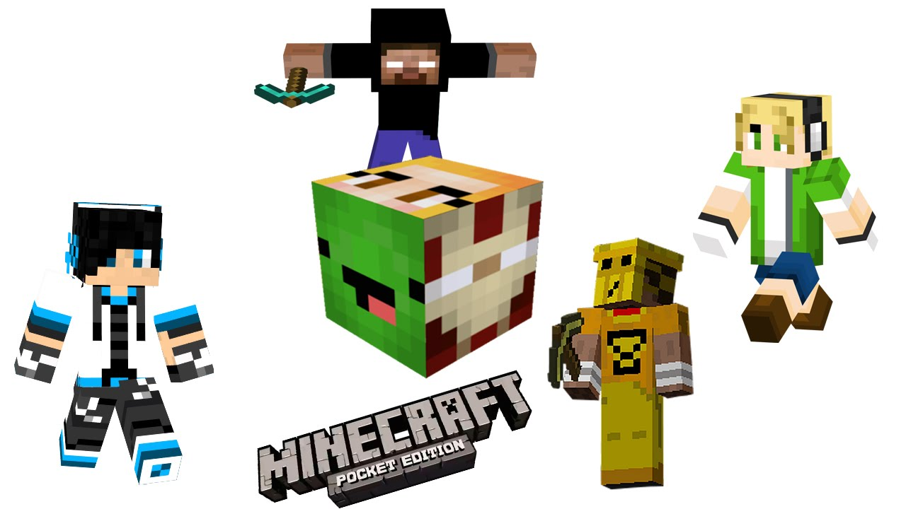 How To Install Skins For Minecraft PE Game Seeds For Minecraft PE - Descargar skins para minecraft pe android gratis